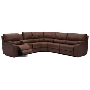 6-Piece Manual Reclining Sectional