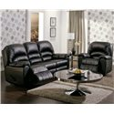 Palliser Taurus Luxurious Recliner - 4109331 - Shown in Room Setting with Reclining Sofa