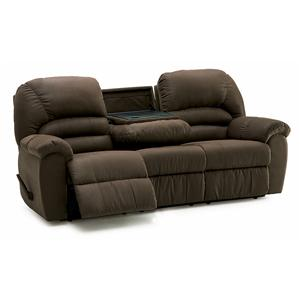 Reclining Sofa with Table