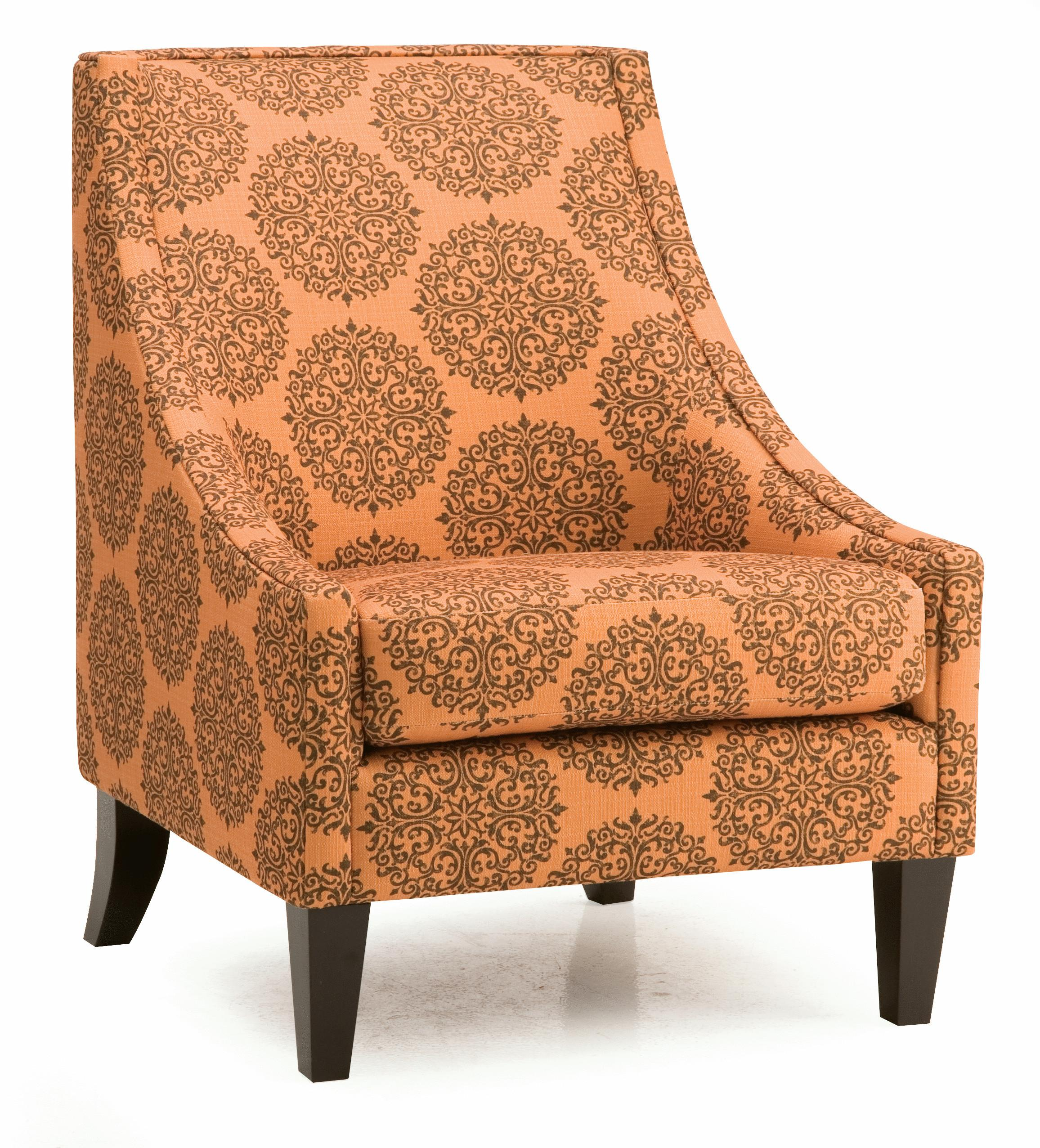 Palliser Theia Contemporary Accent Chair With Low Profile Track Arms Wayside Furniture Upholstered