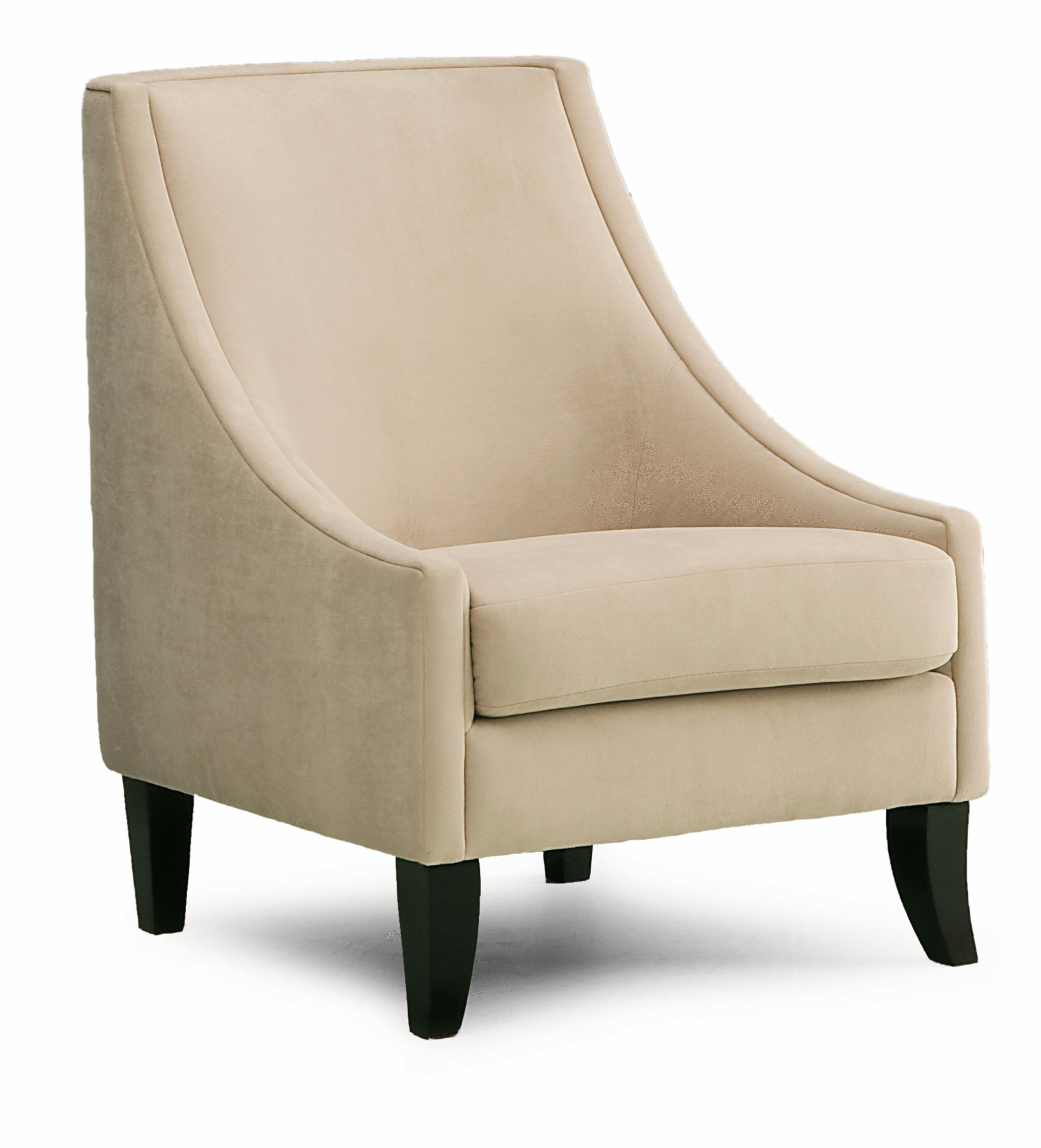 Palliser Theia Contemporary Accent Chair With Low Profile