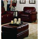 Palliser Thompson 77792 Chair and Ottoman - Item Number: 77792-04+02