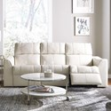 Palliser Topaz Sofa Recliner - Item Number: 41131-51-Venice Bisquit