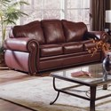 Palliser Troon Sofa - Item Number: 77299-01-Classic Burgundy