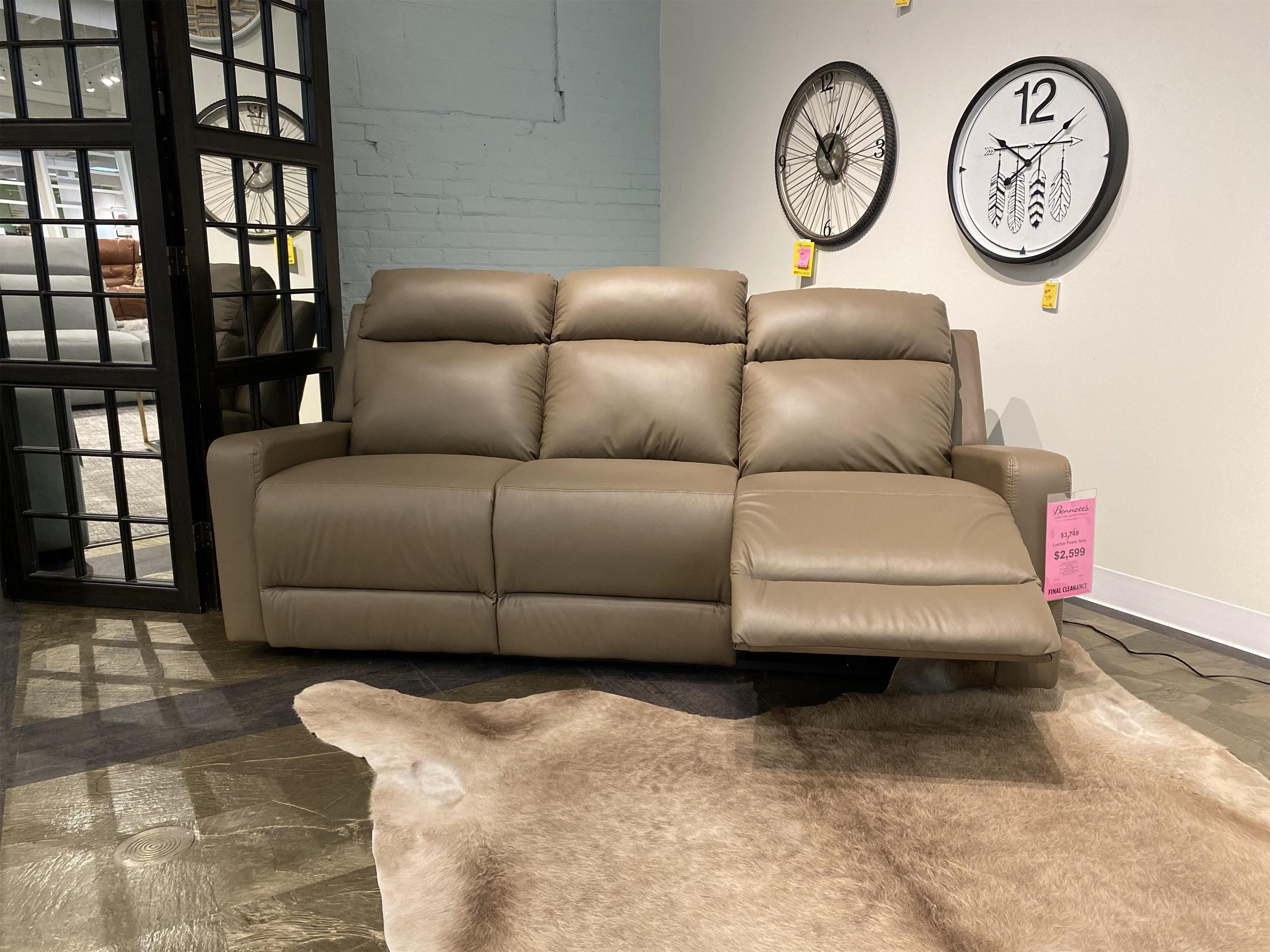 Tulsa Leather Recliner