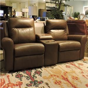Palliser Vega Power Console Loveseat