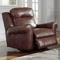 Palliser Vega Casual Power Wall Hugger with Power Headrest - Image Shown May Not Represent Exact Features Indicated