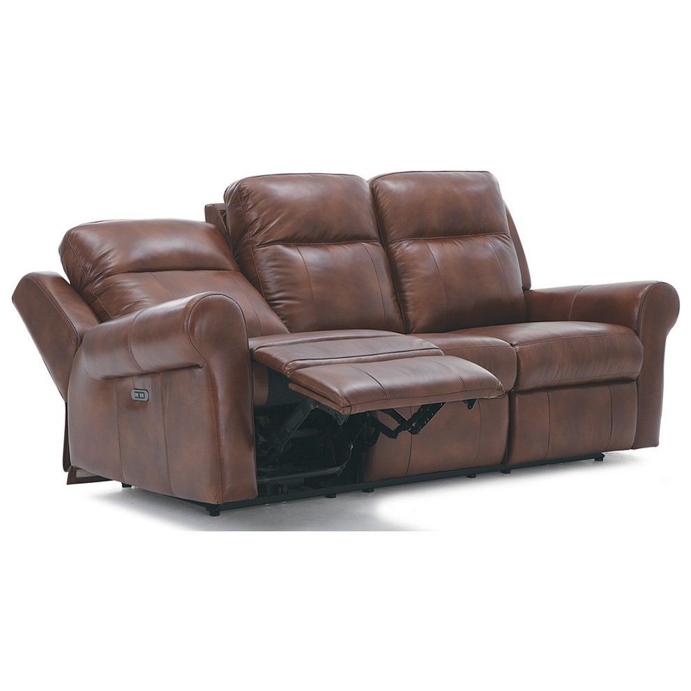 Palliser Vega Casual Power Reclining Sofa With Power