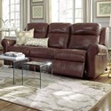 Palliser Vega Power Sofa - Item Number: 41061-61-Alfresco Brandy