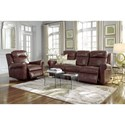 Palliser Vega Casual Power Sofa with Rolled Arms