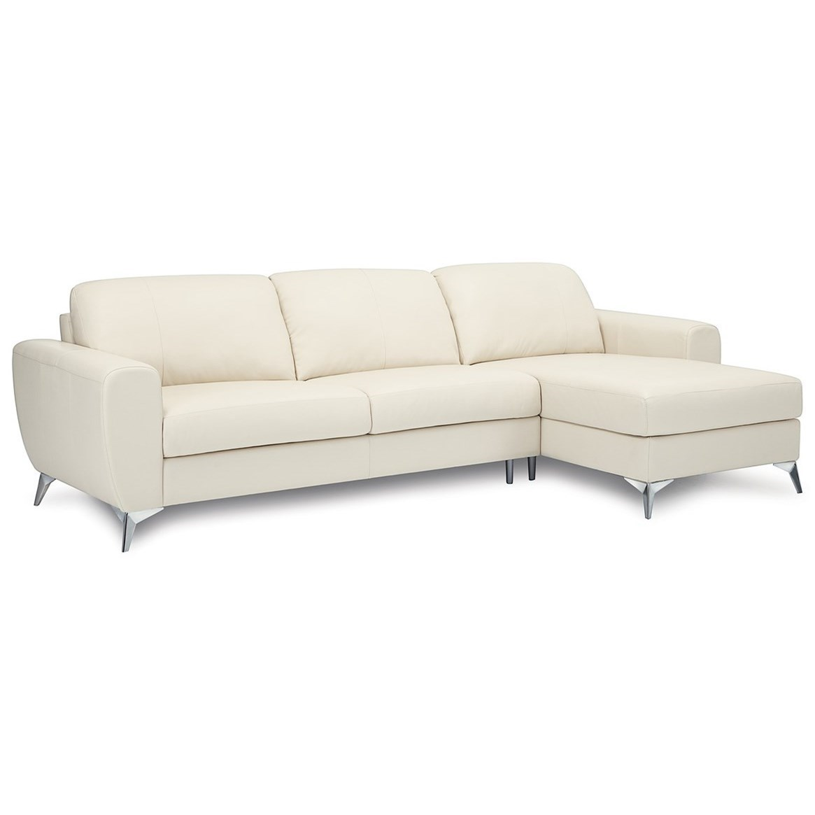 Palliser Vivy Three Seat Sectional Sofa With Modern Appeal