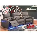 Palliser Vox Three Piece Curved Sectional