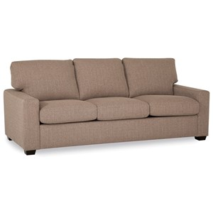 Westend Contemporary Sofa with Track Arms by Palliser
