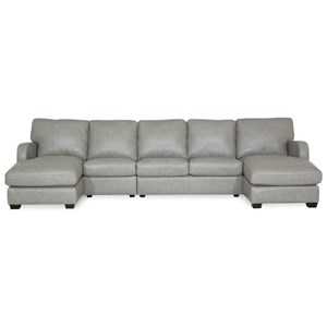 Sectional with Chaises