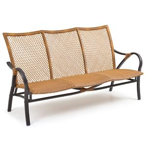 Palm Springs Rattan Empire Sofa