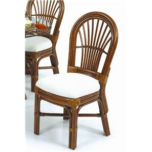 Palm Springs Rattan Islamorada Dining Side Chair