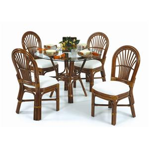 Palm Springs Rattan Islamorada Table and Chair Set