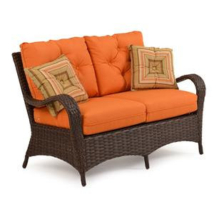 Palm Springs Rattan Kokomo Loveseat