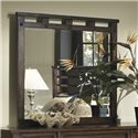 Panama Jack by Palmetto Home Eco Jack Coastal Distressed Brown Landscape Dresser Mirror - 101-­104