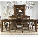 Panama Jack by Palmetto Home Eco Jack Rectangle Leg Dining Table with 18