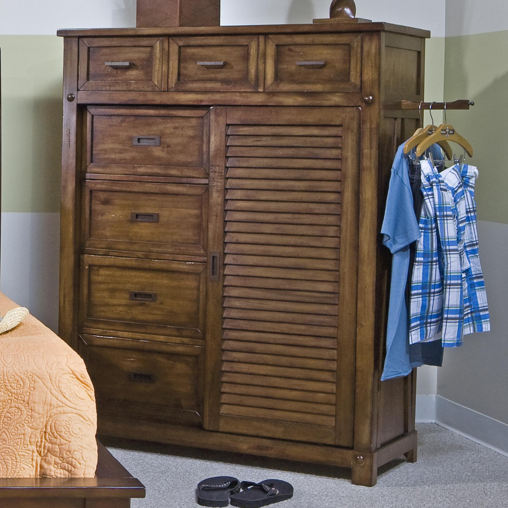 Sliding door bedroom furniture Wardrobes Sliding Panama Jack By Palmetto Home Eco Jack Coastal Slatted Sliding Door Chest With Drawers Blue Ridge Apartments Coastal Slatted Sliding Door Chest With Drawers Eco Jack By