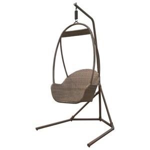 Pelican Reef Panama Jack Island Cove Wicker Hanging Chair