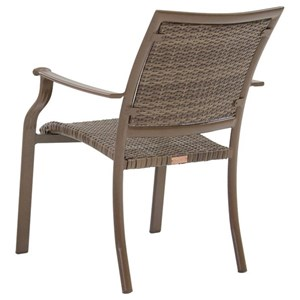 Pelican Reef Panama Jack Island Cove Woven Arm Chair