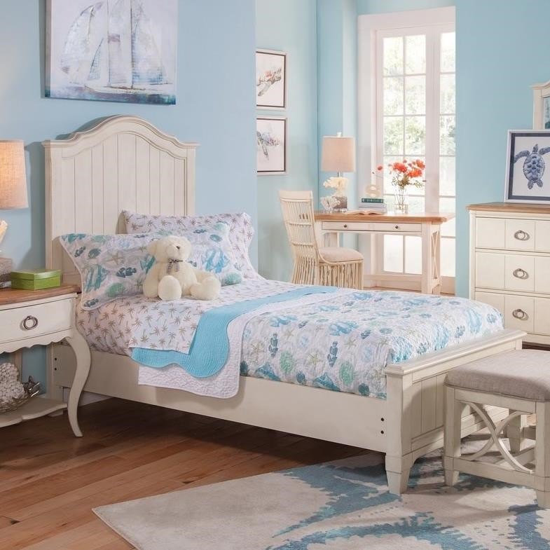 Millbrook Twin Panel Bed by Panama Jack by Palmetto Home at Baer's Furniture
