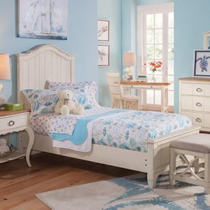 Panama Jack by Palmetto Home Millbrook Twin Panel Bed