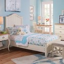 Panama Jack by Palmetto Home Millbrook Twin Panel Bed - Item Number: 112-205+215+25