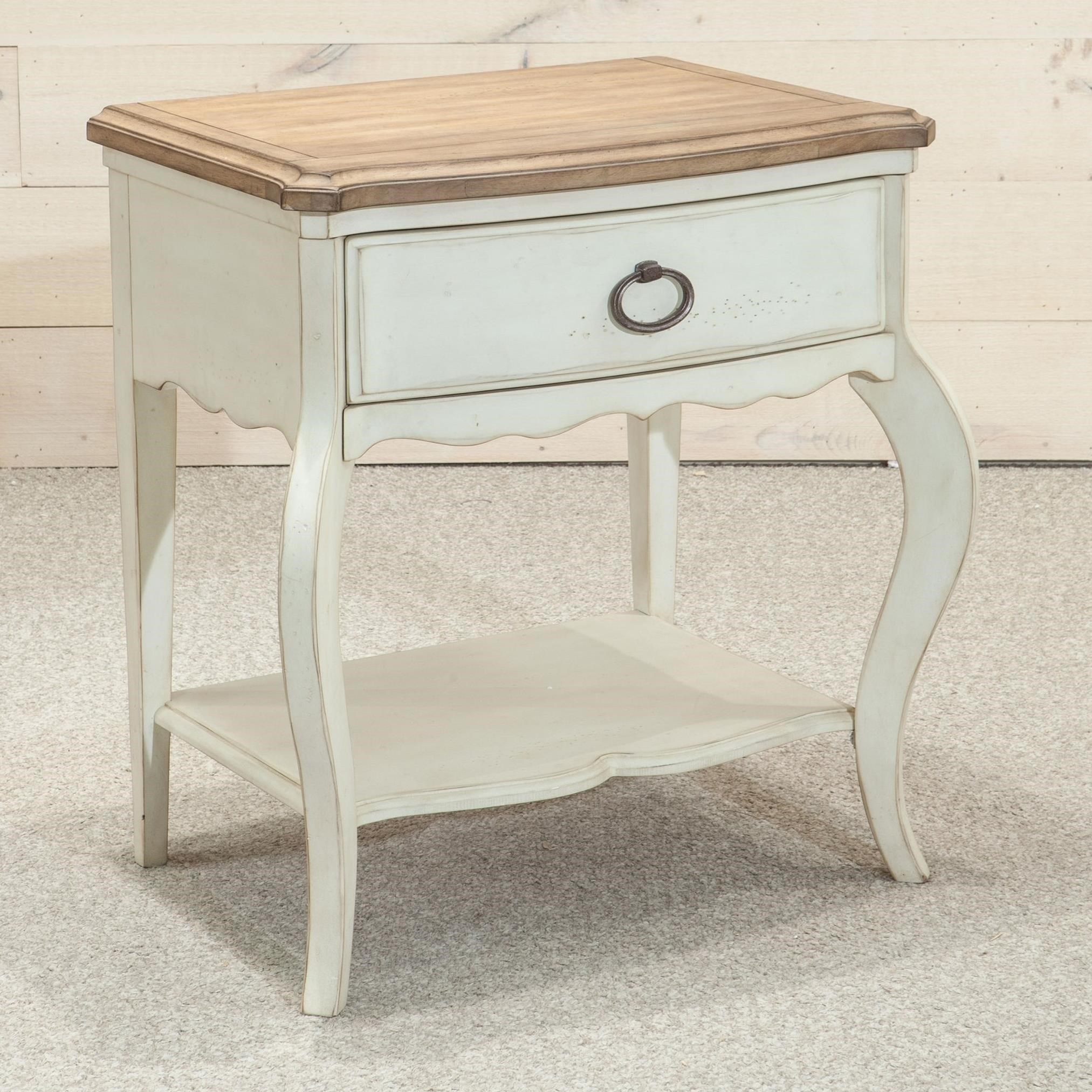 Millbrook Legged Nightstand by Panama Jack by Palmetto Home at Baer's Furniture