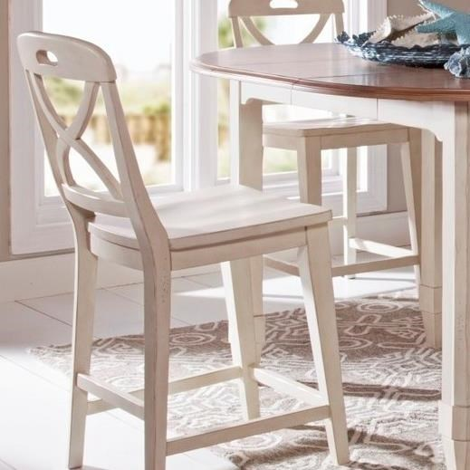 Panama Jack by Palmetto Home Millbrook Counter Stool - Item Number: 112-606