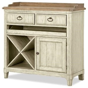 Wine Console with Removable Wine Bottle Storage