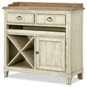 Panama Jack by Palmetto Home Millbrook Wine Console - Item Number: 112-675