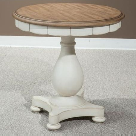 Millbrook Round Lamp Table by Panama Jack by Palmetto Home at Baer's Furniture