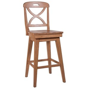 X Back Cream SW Barstool
