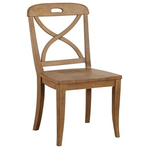 X Back Dining Side Chair