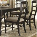 Panama Jack by Palmetto Home Old Havana Coastal Traditional Wood Slat Side Chair - 102-635S