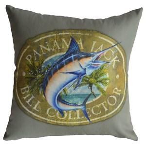 Bill Collector Throw Pillow