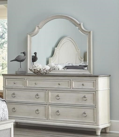 Sonoma Dresser and Mirror Set by Panama Jack by Palmetto Home at Baer's Furniture