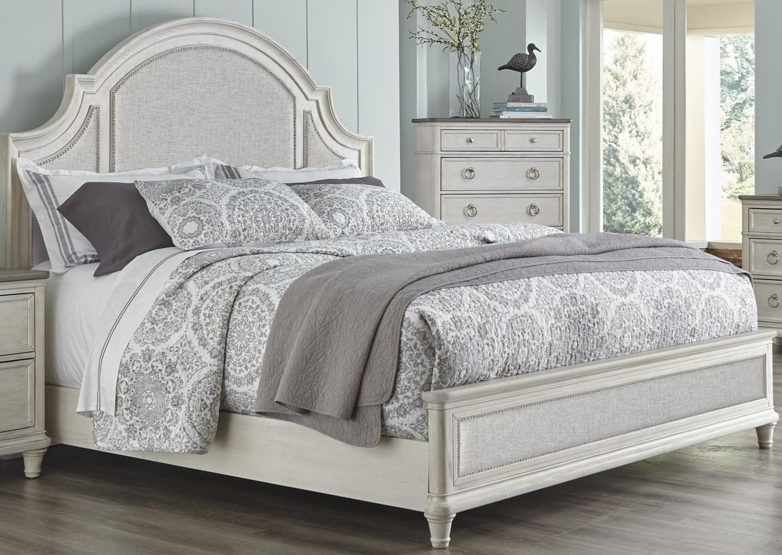 Sonoma Queen Upholstered Bed by Panama Jack by Palmetto Home at Baer's Furniture
