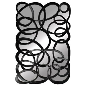 Paragon Mirrors Black Interlaced Mirror