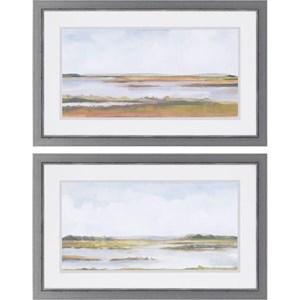 Paragon Wall Art Serene Wetland II Giclee Print