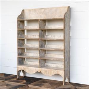 Painted Preserved Display Shelf