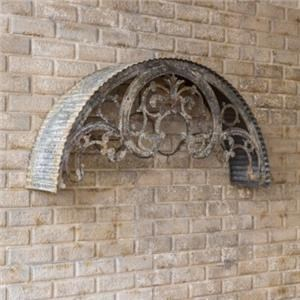 Metal Window Arch