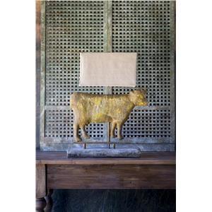 Cow Weathervane Relic Lamp