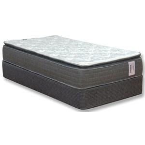 """Park Place Corp AC Embrace PT Queen 10"""" Pillow Top Mattress Set"""