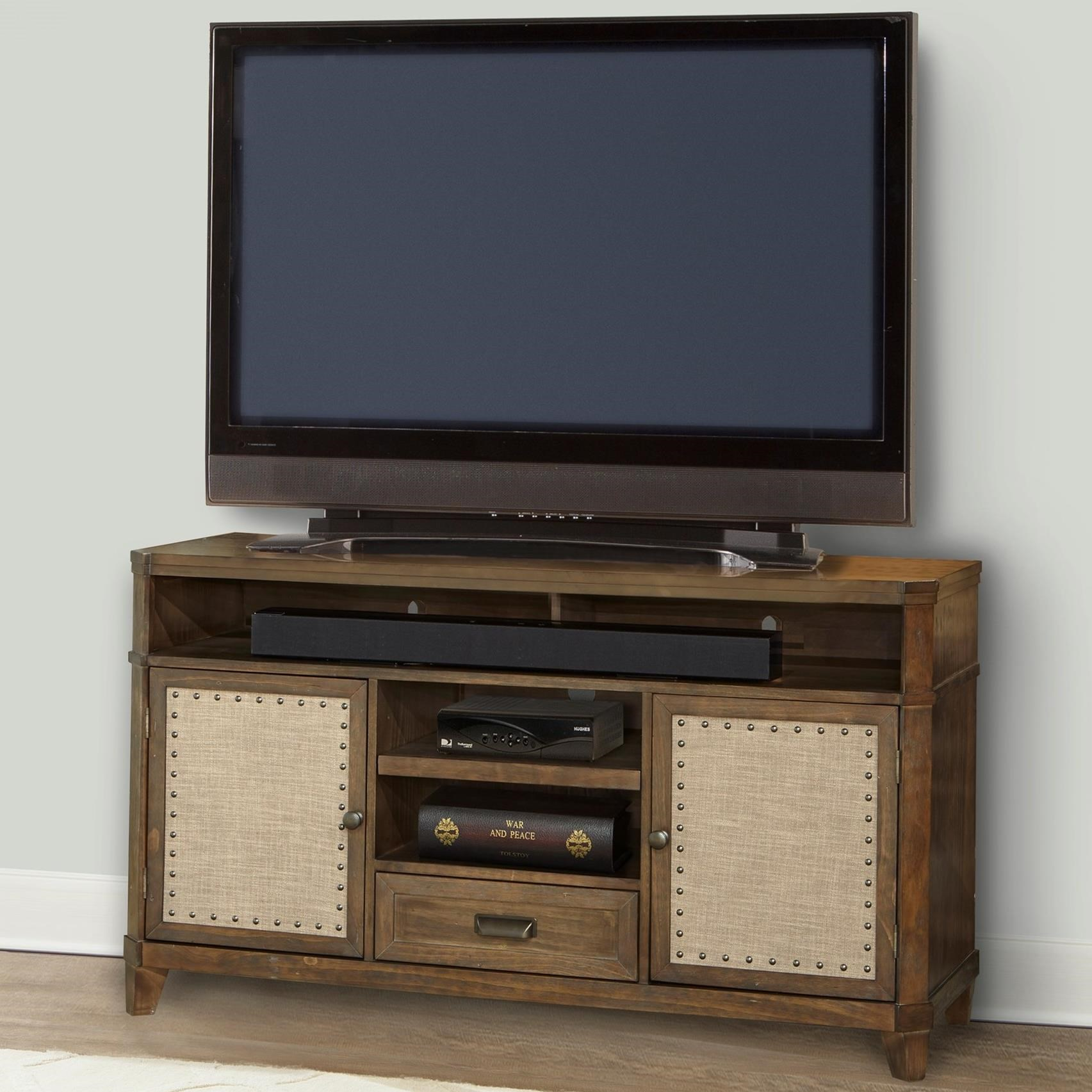 "Parker House Aberdeen 55"" TV Console - Item Number: ABE-55"