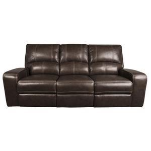 Morris Home Furnishings Alta Alta Leather-Match* Power Sofa