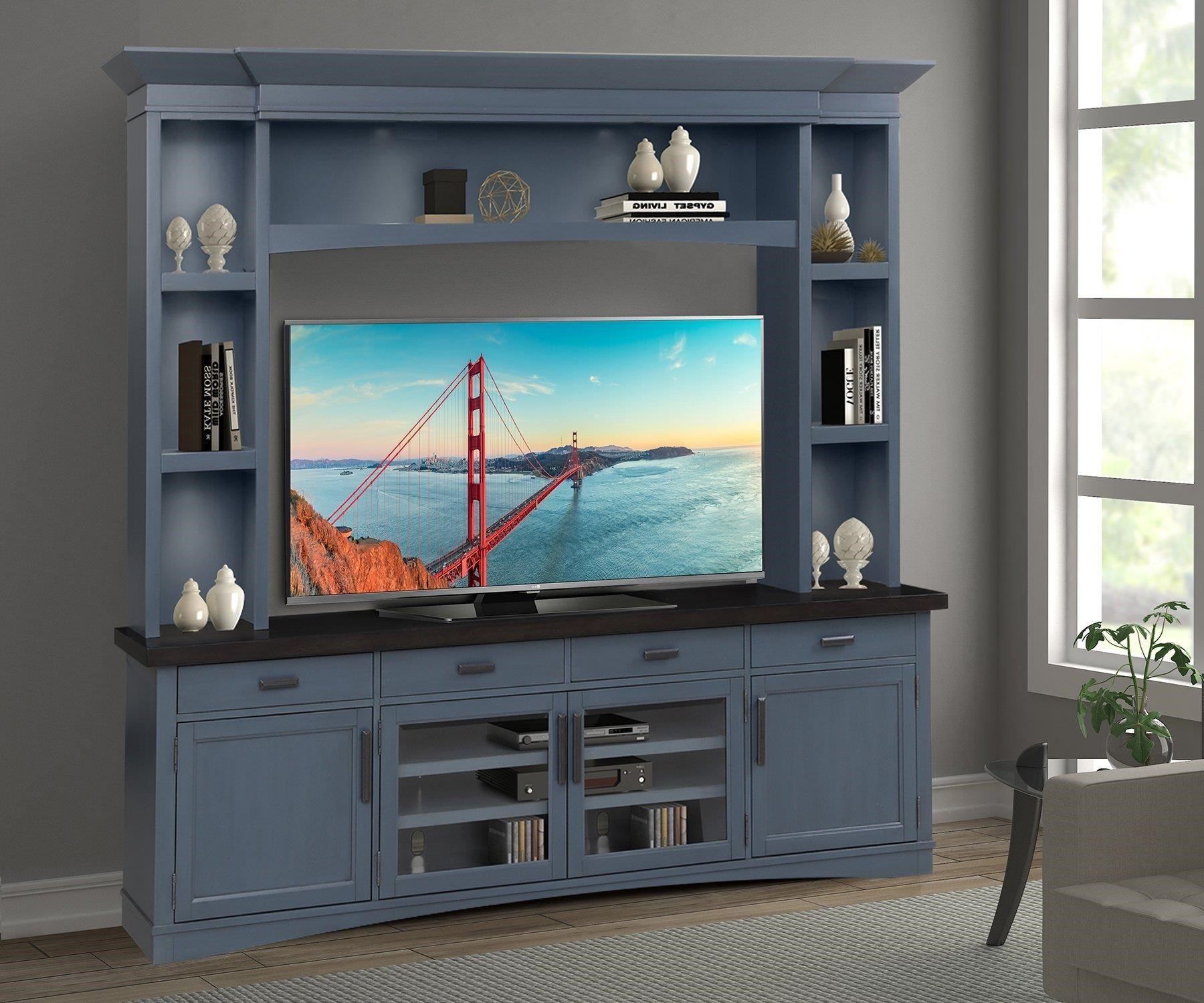 Americana Modern Entertainment Wall Unit by Parker House at Johnny Janosik